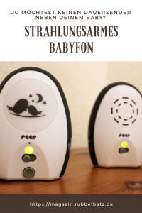 Müssen Babyphone strahlungsarm sein?