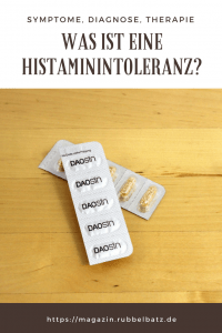 Histaminintoleranz: Diagnose, Symptome, Therapie