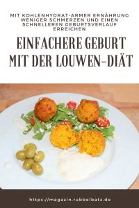 Louwen Diät - Ernährung für eine einfache Geburt