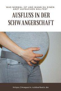 Ist Ausfluss in der Schwangerschaft normal oder gefährlich?