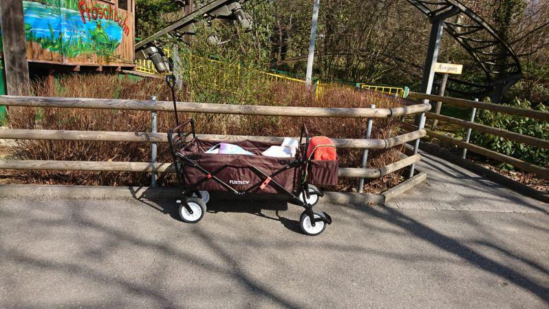 Fuxtec Bollerwagen für Kinder ohne Dach