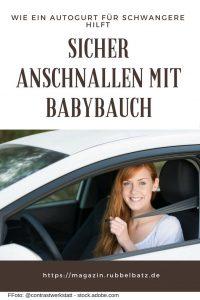 Schwangerschaftsgurt fürs Auto: Wie gefährlich sind Anschnallgurte für Schwangere?