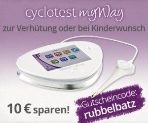 Gutschein für Zykluscomputer myway von Cyclotest