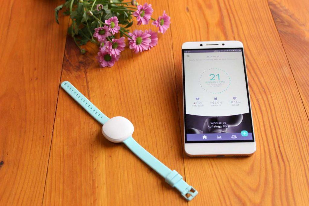 Erfahrungen mit Ava Armband und Smartphone