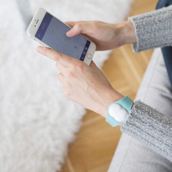 Ava Armband Synchronisation mit App