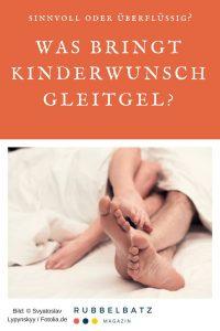 Kinderwunsch-Gel: Mit Gleitgel schwanger werden - geht das überhaupt?