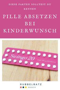 Pille absetzen bei Kinderwunsch - Was muss ich beachten?