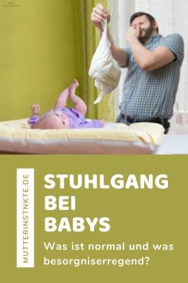 Stuhlgang bei Babys: Was ist normal? - Farbe, Konsistenz ...