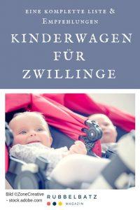 Die besten Zwillingskinderwagen: 5 Empfehlungen + 56 Tipps