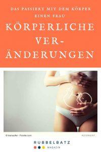 Wie verändert sich der Körper in der Schwangerschaft?
