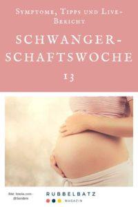 Schwangerschaftswoche 13