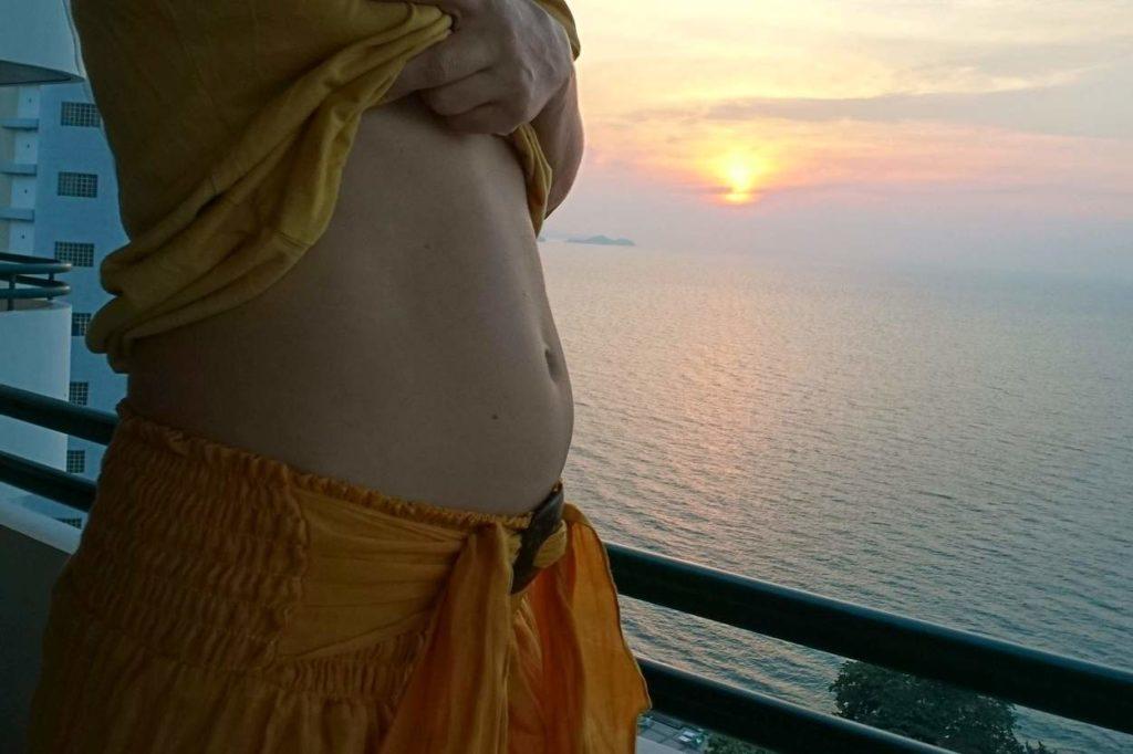 Mein Schwangerschafsbauch in SSW 16