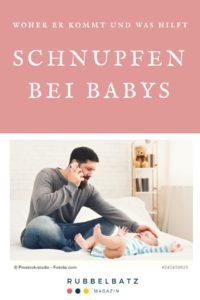 Baby-Schnupfen: Soforthilfe, Tipps und Hausmittel