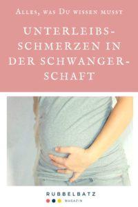 Unterleibsschmerzen & schwanger: Ursache & Maßnahmen