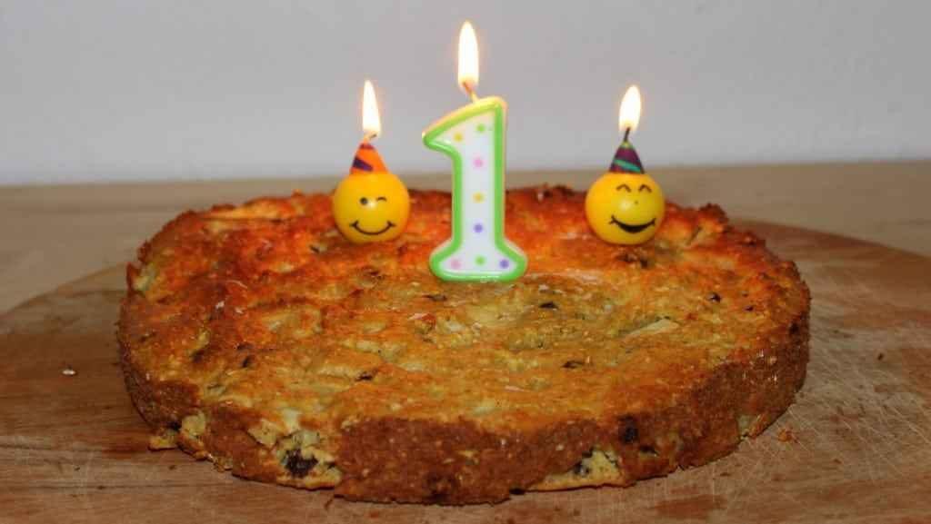 zuckerfreier apfelkuchen zum ersten geburtstag
