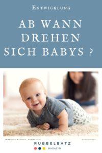 Ab wann drehen sich Babys? - Zeitpunkt, Lernen & Fördern