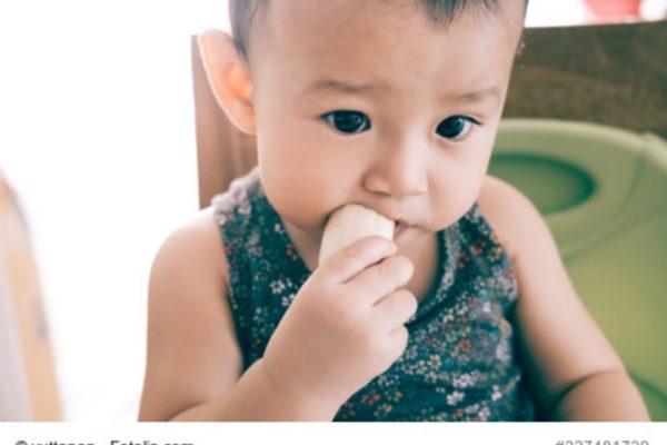 Baby Banane essen
