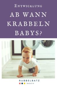 Ab wann krabbeln Babys? - Zeitpunkt, Lernen & Fördern