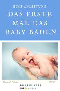 Anleitung zum Baby baden: Ab wann? Wie Oft? Wie heiß?