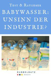Babywasser: Sinnvoll oder Unsinn? - Das musst Du wissen!