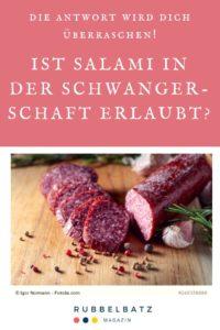 Salami in der Schwangerschaft essen: Erlaubt oder gefährlich?