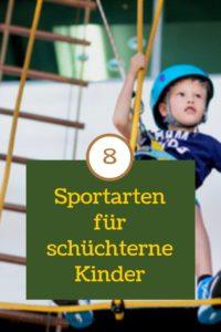 Sport für schüchterne Kinder: 8 geeignete Sportarten