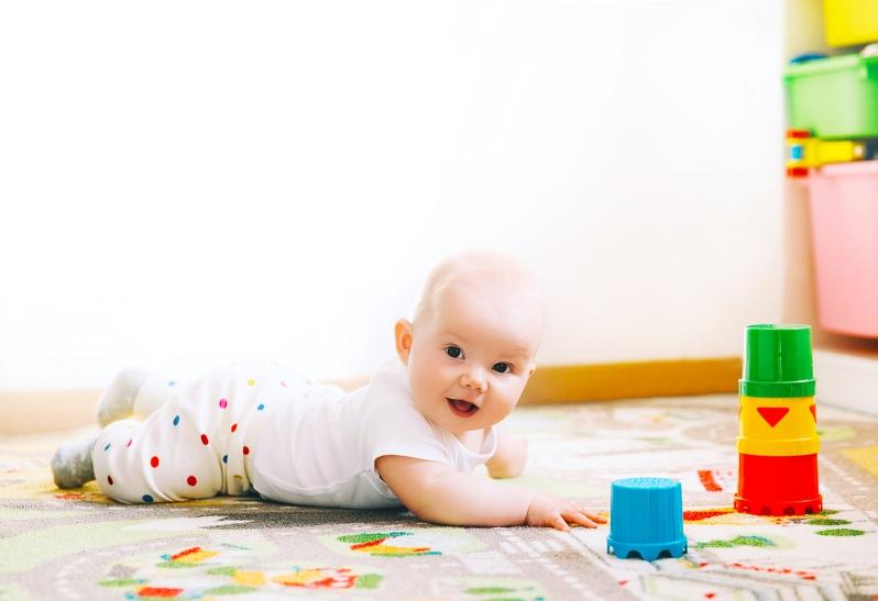 Baby im 26 Wochen Schub
