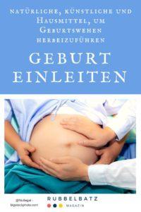 Geburt einleiten: 15 Methoden (künstlich, natürlich & Hausmittel)