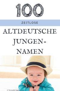 100 Altdeutsche Vornamen für Jungs