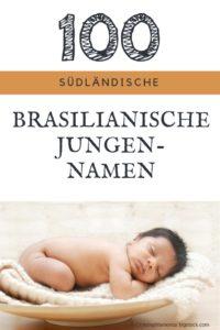 100 männliche Vornamen aus Brasilien