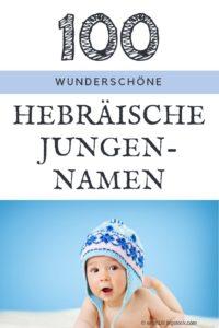 100 beliebte hebräische männliche Vornamen