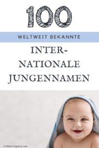 100 beliebte internationale Vornamen für Jungs