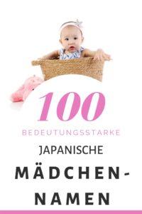 100 Japanische Mädchennamen: Hitliste & Vorschläge