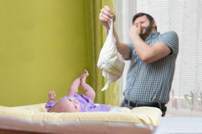 Baby Stuhlgang Grun Schleimig