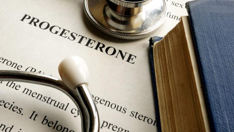 Ärztliche Dokumente über Progesteronmangel und Gelbkörperschwäche