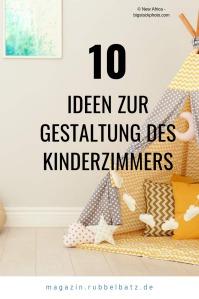 10 kreative Ideen für die Gestaltung des Kinderzimmers