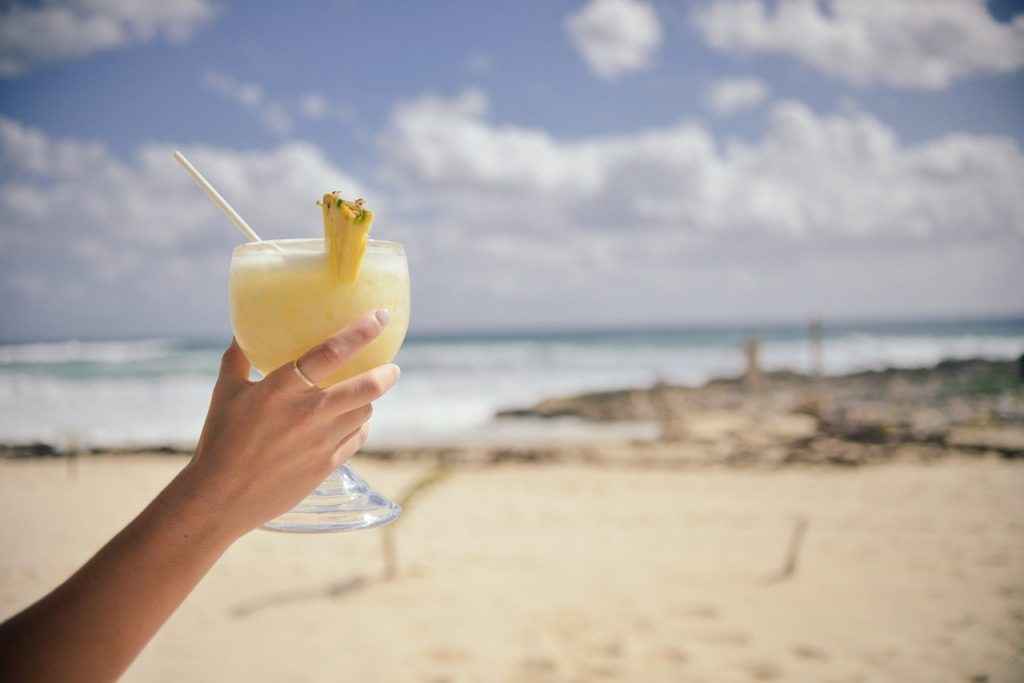Pina Colada Cocktail ohne Alkohol