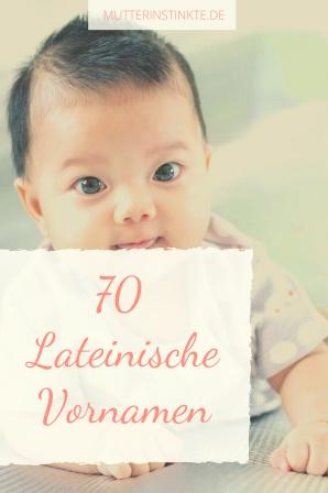 Lateinische Vornamen Baby